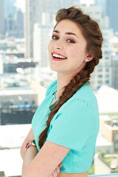 Pretty Hairstyle Ideas - Second Day Hair - Fishtail Braid Tutorial - Seventeen.com