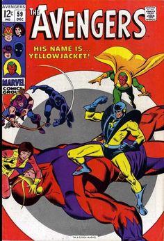 Avengers 59, cover
