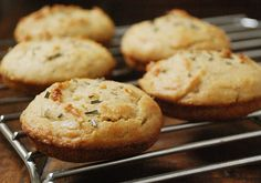Paleo Herb Buns  1 1/2 cups almond flour  2 tablespoons coconut flour  2 tablespoons fresh rosemary, chopped  1/4 teaspoon salt  1 1/2 teaspoon baking soda  5 eggs  1/4 cup bacon grease (or coconut oil, melted)  1 tablespoon apple cider vinegar  1/2 tablespoon honey    Recipe adapted from Elana's Pantry
