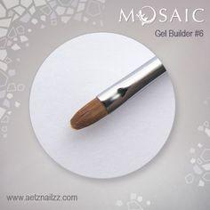 Gel builder brush #6