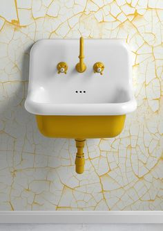 Home Interior Velas .Home Interior Velas Retro Home Decor, Cheap Home Decor, Bathroom Interior, Home Interior, Cracked Paint, Interior Minimalista, Vintage Interior Design, Yellow Bathrooms, Unusual Bathrooms