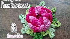 Rosa do Deserto em crochê por Carine Maria Strieder - YouTube