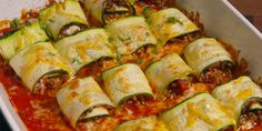 You won't miss the shell with this ultra-satisfying zucchini taco bake.