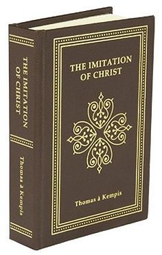 The Imitation of Christ by Thomas À Kempis, A great book of devotion, by a godly man. Don't let the age of the book scare you! It applies perfectly to your daily life, helping you to learn to imitate Christ more daily Catholic Books, Catholic Gifts, Roman Catholic, Christian Movies, Christian Life, Great Books, My Books, Works Of Shakespeare, The Imitation