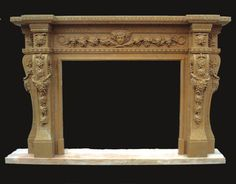 Napa Valley Marble Fireplace | CA Fireplace California Marble