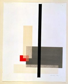 László Moholy-Nagy Composition from Masters Portfolio of the Staatliches Bauhaus, 1923