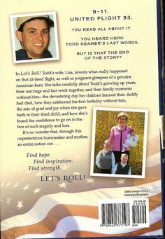 9 11 2001 Todd Beamer Lets Roll by Monte Mendoza, via Flickr 9-11 #NeverForget #911 #Remembering911 9/11/2001