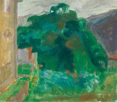 """terminusantequem: """"Thorvald Erichsen (Norwegian, 1868-1939), Tulipaner i haven, 1906. Oil on canvas, 40.00 x 45.00 cm """""""