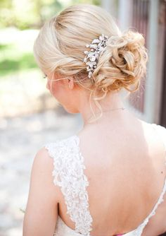 s curl hairstyle : Rustic Wedding Hair on Pinterest Wedding Hairs, Updo and Hair Pieces