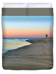 """End of a perfect Day Queen (88"""" x 88"""") Duvet Cover by Kaye Menner"""