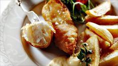 Fish and chips med tartarsaus
