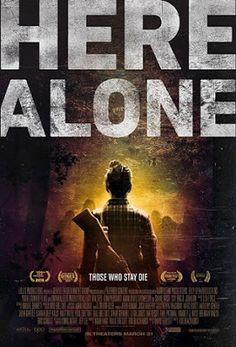 TERROR EN EL CINE. : HERE ALONE. (CLIP Y TRAILER)