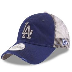 Men s New Era Royal Los Angeles Dodgers Team Rustic 9TWENTY Snapback  Adjustable Hat 57b47b60a3c