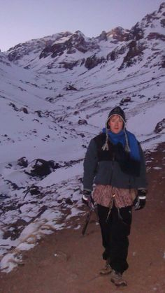Ascending the tallest mountain in North Africa - Jebel Toubkal.  Surreal stuff altogether. ( January 2011)