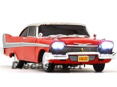#Autoworld 1:18 1958 plymouth fury christine nighttime #diecast car red #awss102/,  View more on the LINK: http://www.zeppy.io/product/gb/2/351724718033/