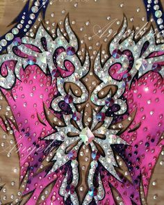 "Купальник ""Glamour"" для красавицы Софии из Минска. В процессе. Leotard ""Glamour"" for beatiful Sophia from Minsk. Work in progress…"