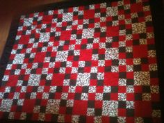 Front of a quilt i just finished today for my sister-in-law.