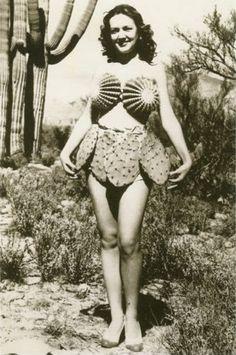 cactus bikini 1930s