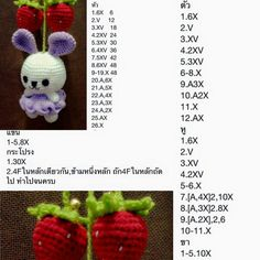 £$¥€ Crochet Rabbit, Crochet Food, Easter Crochet, Love Crochet, Crochet For Kids, Diy Crochet, Crochet Doll Pattern, Crochet Patterns Amigurumi, Amigurumi Doll