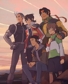 On December (this Friday), the last season of Voltron drops on Netflix. After working on it for over three years, it's a bit surreal that it's all coming to an end. Form Voltron, Voltron Ships, Voltron Klance, Voltron Memes, Voltron Comics, Voltron Fanart, Voltron Paladins, Voltron Force, Shiro Voltron