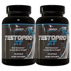 TESTOPRO XT 120 Capsules TWIN PACK Powerful Testosterone Booster by Ai Sports Nutrition Clinically Studied Ingredients *** Check out this great product.  This link participates in Amazon Service LLC Associates Program, a program designed to let participant earn advertising fees by advertising and linking to Amazon.com.