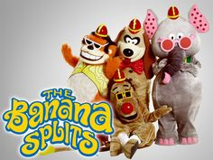 The Banana Splits Adventure Hour intro, theme song, lyrics & more on this trippy retro kids' show - Click Americana Banana Splits Tv Show, Split Movie, 1970s Tv Shows, Retro Kids, 80s Kids, Kids Tv Shows, Classic Cartoons, 1970s Cartoons, I Remember When