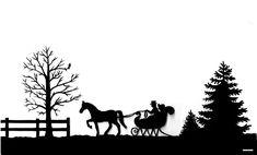 Silhouette Horse and Sleigh Cake Mason Jar Christmas Decorations, Christmas Mason Jars, Christmas Wood, Christmas Projects, Christmas Sleighs, Scandinavian Christmas, Christmas Scenes, Christmas Holidays, Homemade Christmas Gifts