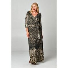 http://www.salediem.com/shop-by-size/xl-2xl-3xl/plus-maxi-long-sleeve-dress.html #salediem #fashion #women'sfashion #tblackandwhite #lplus