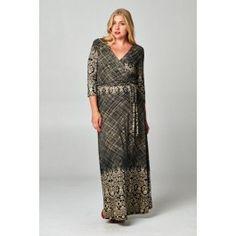http://www.salediem.com/shop-by-size/xl-2xl-3xl/plus-maxi-long-sleeve-dress.html #salediem #fashion #women'sfashion #tblackandwhite #lplus
