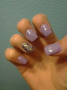 Cheetah print nails :)