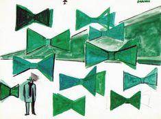 René Daniëls, Sans titre, 1987, Aquarelle, crayon et encre sur papier, 26,9 x 35,9cm © René Daniels Founadtion, Eindhoven.
