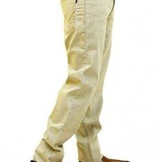 Wabba-Mens-WB-906-RegularFit-Jeans-Beige-0