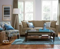 Kenton Fabric Sofa Living Room Furniture Collection $296.10 Meet your living room contemporary. Designing is easy with smart detailing, like track-style arms and ultra-soft upholstery. Each piece exudes a laid-back confidence that fills your room with comfort you can't resist.