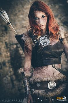 Skyrim Cosplay / Model: Illisia Cosplay and Photography / Photography & edit: Peck Photography
