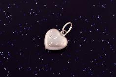 Zlatý přívěsek srdce bílé P044,14kt,0,35g Stud Earrings, Jewelry, Jewlery, Jewerly, Stud Earring, Schmuck, Jewels, Jewelery, Earring Studs