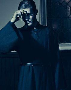 Controversial Priest Pictorials : 3 faint editorial