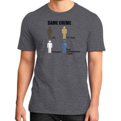 Same Crime District T-Shirt (on man)