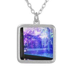 Serenity Garden Dreams Silver Plated Necklace