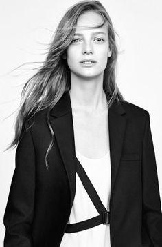 Julia Nobis, Edie Campbell, Ine Neefs, Mijo Mihaljcic for Zara Fall Winter 2014-2015