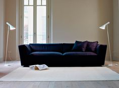 Shop the Elliot Sofa and more contemporary furniture designs by Verzelloni at Haute Living Modern Sectional, Modern Sofa, Sectional Sofa, Sofas, Couches, Sofa Design, Furniture Design, The Big Comfy Couch, Italian Sofa