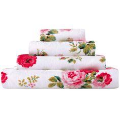 Antique Rose Bouquet Bath Towel