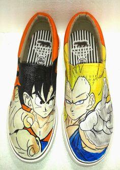 Zapatos pintados a mano, Dragon Ball Z - Goku