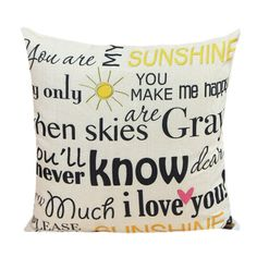 SHARE & Get it FREE   Letter Proverb Pattern Linen Sofa Decorative Pillow CaseFor Fashion Lovers only:80,000+ Items • New Arrivals Daily • Affordable Casual to Chic for Every Occasion Join Sammydress: Get YOUR $50 NOW!
