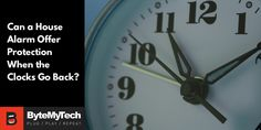 Can a House Alarm Offer Protection When the Clocks Go Back?