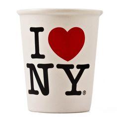 I Heart NY Ceramic Cup