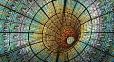 Stained Glass Black Hole