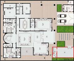 مخطط الفيلا رقم التصميم A12 من مبادرة بيتى 929 متر مربع 7 غرف نوم