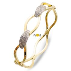 Favori Gold Sonsuzluklu Altın Kelepçe Bilezik - Bilezikci Gold - Türkiye'nin Lider Kuyumcusu Diamond Bracelets, Gold Bangles, Diamond Jewelry, Bangle Bracelets, Gold Jewelry, Jewelery, Unique Jewelry, Jewelry Design, Women Jewelry