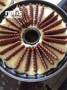 İrmikli Pasta  Манная Ингредиенты Рецепт торта Making 1 литр молока 1 чашка манной крупы 1 стакан сахара 1 чашка кокосового 1 пакетик шоколадного печенья На протяжении более;  шоколадный соус