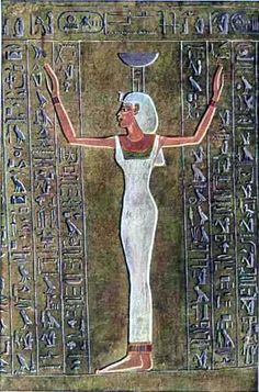 All Different Colors wth do they make the goddess only  white?  Goddess Nephthys - protector of the Dead